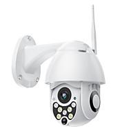 povoljno -sdeter 720p 1mp bežični ptz ip kamera brzina dome cctv sigurnosna kamera na otvorenom onvif ir noćno viđenje otkrivanje pokreta mobilni daljinski nadzor p2p pan tilt kamera wifi nadzor