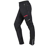 Wheel up Męskie Damskie Spodnie na rower Rower Spodnie Doły Wodoodporny Sport Czarny Kolarstwo górskie Odzież Dopasowana Odzież rowerowa / Średnio elastyczny