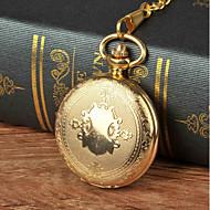 رجالي ساعة جيب كوارتز ذهبي تصميم جديد كوول مماثل كرتون قادم جديد - ذهبي