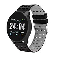 B2 Unisex Smartur Android iOS Bluetooth Vandtæt Touch-skærm Pulsmåler Blodtryksmåling Sport Stopur Skridtæller Samtalepåmindelse Aktivitetstracker Sleeptracker