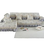 billige -Sofa Pute Romantik / Klassisk / Moderne Mønstret / Mønsterpreget / Kviltet Bomull / Polyester / bomullsblanding slipcovere