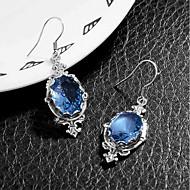 Dames Maansteen Druppel oorbellen Retro Vintage Romantisch Elegant oorbellen Sieraden Blauw Voor Bruiloft Feest Dagelijks 1 paar