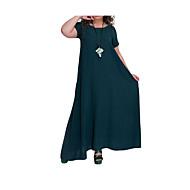 Pentru femei Elegant Swing Rochie Mată Maxi