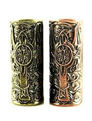 Недорогие -1шт татуировка рукоятка металлический шлем набор татуировки комплект поставки для профессионального художника татуировки