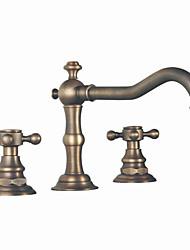 abordables -finition en laiton antique généralisée bathtubfaucet