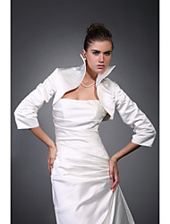 cheap -Satin Wedding Wedding  Wraps Coats / Jackets