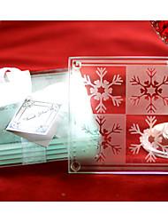 economico -sottobicchieri fiocco di neve (set di 2)