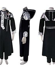 Ispirato da D.Gray-man Allen Walker Anime Costumi Cosplay Abiti Cosplay Collage Manica lunga Cappotto Pantaloni Distintivo Per Uomo