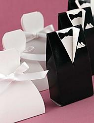Creativo Papel de tarjeta Soporte para regalo  Con Cintas Cajas de regalos