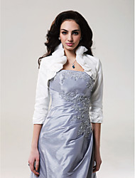 cheap -Taffeta Wedding Wedding  Wraps With Ruffles Coats / Jackets