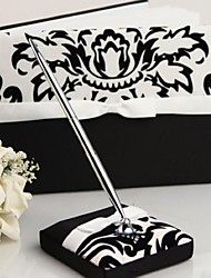 cheap -Guest Book Pen Set Satin Garden ThemeWithBow Sash Wedding Ceremony