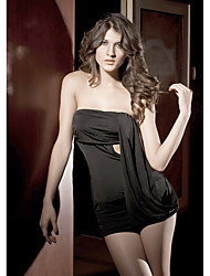 cheap -Women's Sexy Chemises & Gowns Nightwear - Pure Color / Strapless