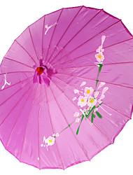 Недорогие -Шелк Вентиляторы и зонтики Пьеса / Установить Зонты Сад Азия Лиловый 48 см высота × 82 см диаметр Высота 48 см