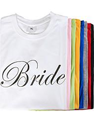 abordables -100% Coton Vêtements Mariée Mariage
