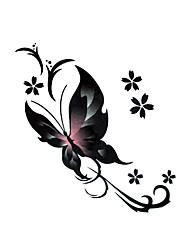 Χαμηλού Κόστους -#(5) Αυτοκόλλητα Τατουάζ προσωρινή Τατουάζ Σειρά Άνιμαλ Μιας χρήσης / Υψηλής ποιότητας, χωρίς φορμαλδεΰδη Τέχνες σώμα Σώμα / μπράτσο / αστράγαλος / Τατουάζ αυτοκόλλητο