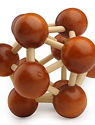Недорогие -Мячи Деревянные пазлы Головоломки профессиональный уровень Скорость деревянный Классический и неустаревающий Мальчики Подарок