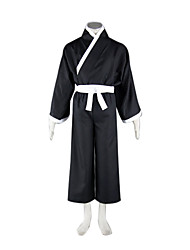 Inspired by Cosplay Cosplay Anime Costumes  Suits / Kimono Patchwork White Long SleeveKimono Coat / Vest / Hakama pants /