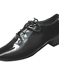 Performance Dance Shoes Patent Leather Upper Latin Shoes for Kids Customizable