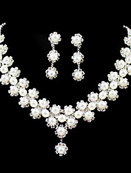 cheap -Women's Others Jewelry Set Earrings / Necklace - Regular For Wedding / Party / Birthday