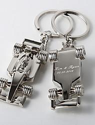 Alliage de zinc Porte-clés Favors-4 Piece / Set Porte-clés Thème classique Personnalisé Argent