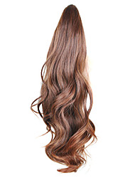 cheap -18 inch Long Synthetic Hair Hair Extension Wavy Hair weave 1pc Other Party Evening Daily High Quality Women's Synthetic Extentions Human