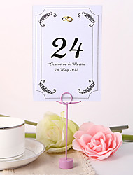 cheap -Personalized Table Number Card - Ring