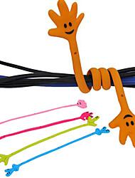 abordables -enrouleur de câble de motif de la main