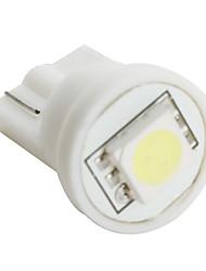 t10 5050 SMD lâmpada LED de luz branca para o carro (12V DC, conjunto de 10 peças)