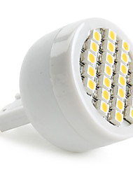 1.5W G9 LED Spotlight 24 SMD 3528 120-150lm Warm White 2800K AC 220-240V