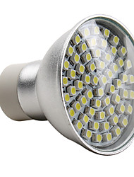 cheap -2800lm E14 GU10 LED Spotlight MR16 60 LED Beads SMD 3528 Natural White 220-240V