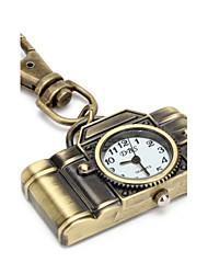 Mulheres Porta-Chaves Relógio Quartzo Banda Vintage