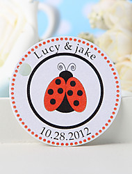 cheap -Personalized Favor Tag - Ladybug (Set of 36)