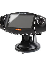 cheap -1280x480 2.7 Inch Display Car DVR with Dual Camera, Night Vision