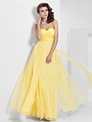 A-line princeza bez strapless sweetheart kata duljina šifon premijera s draping by ts couture ®