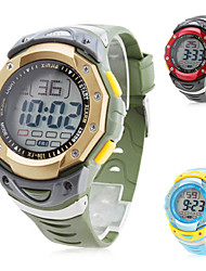 cheap -Men's Silicone Digital Automatic Sport Wrist Watch (Assorted Colors) Cool Watch Unique Watch