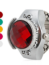 cheap -Women's Ruby Style Design Alloy Analog Quartz Ring Watch (Assorted Colors) Cool Watches Unique Watches