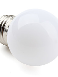 cheap -1W E26/E27 LED Globe Bulbs G45 12 SMD 3528 60-100lm Warm White 2700K AC 220-240V 1pc