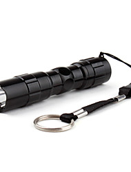 LED Flashlights/Torch Handheld Flashlights/Torch LED 50 Lumens 1 Mode Batteries not included Super Light Compact Size Small Size for