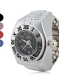 cheap -Women's Roman Numeral Style Alloy Analog Quartz Ring Watch (Assorted Colors) Cool Watches Unique Watches Fashion Watch