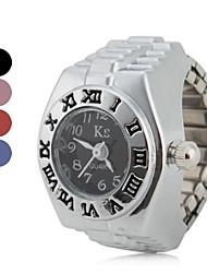 Недорогие -Жен. Часы-кольцо Японский Повседневные часы сплав Группа Винтаж / Мода Серебристый металл