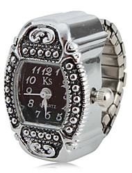 cheap -Women's Ring Watch Japanese Band Charm Silver / One Year / SSUO SR626SW