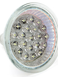 economico -1 W 60-80 lm GU10 / GU5.3(MR16) Faretti LED MR16 21 Perline LED Capsula LED Bianco caldo / Bianco 12 V