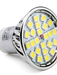 GU10 LED Spotlight MR16 24 SMD 5050 280lm Natural White 6000K AC 85-265V