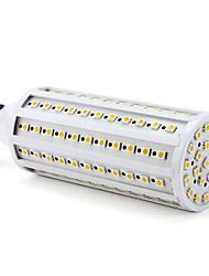 billige -1pc 3 W LED-kornpærer 3000 lm E26 / E27 T 132 LED perler SMD 5050 Varm hvit 220-240 V