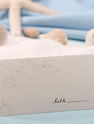 abordables -carte de place - élégant rose (set de 12) porte-cartes réception de mariage