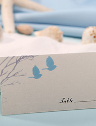 cheap -Place Cards and Holders Place Card - Love Birds (Set of 12) Wedding Reception