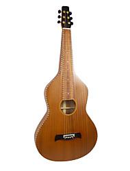 Недорогие -Aiersi - (02HBSM) все твердые Rope Mahogany привязки Weissenborn гитары / Акустические гавайская гитара Слайд с Gig Bag (Satin)