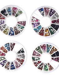 20 PCS Nail Art Dekoration Wheels