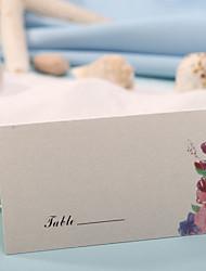 sted kort og holdere bordkort - romantisk forår (sæt af 12)