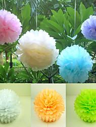 baratos -Material Papel de Revestimento Presente Decoração cerimônia - Festa / Noite Tema Flores Férias Tema Clássico
